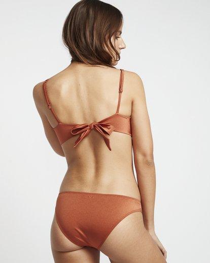 1 S.S Tropic - Braguita de bikini para Mujer Marron S3SB03BIP0 Billabong