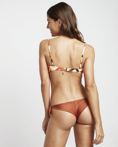 1 S.S Tanga - Braguita de bikini para Mujer Marron S3SB05BIP0 Billabong