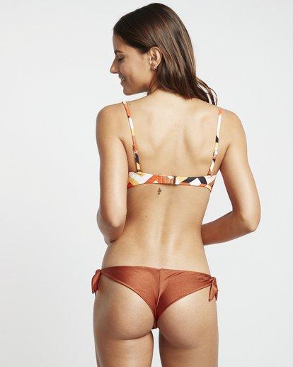 3 S.S Tanga - Braguita de bikini para Mujer Marron S3SB05BIP0 Billabong