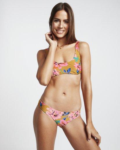1 Beach Bazaar Biarritz - Bikinihose für Damen Gelb S3SB17BIP0 Billabong