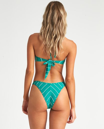 3 Emerald Bay Hike - Braguita de bikini de talle alto a rayas para Mujer Azul S3SB22BIP0 Billabong