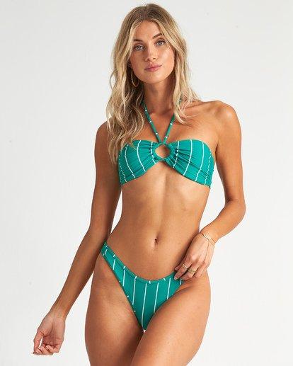 2 Emerald Bay Hike - Braguita de bikini de talle alto a rayas para Mujer Azul S3SB22BIP0 Billabong