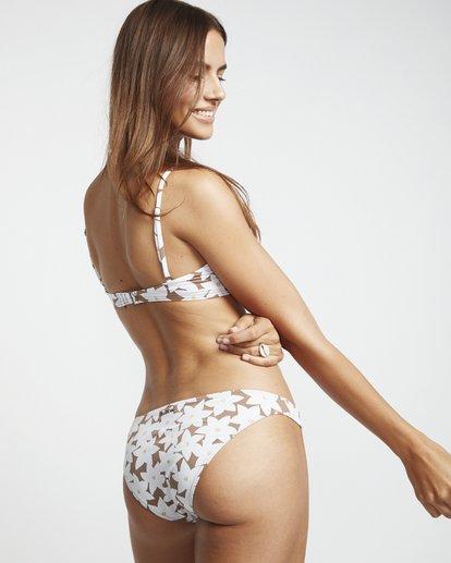 3 Slow Daze Maui - Bikinihose mit Blumenmuster für Damen Braun S3SB25BIP0 Billabong