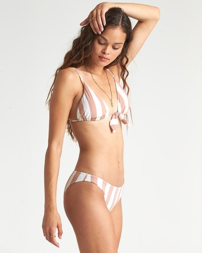 1 Shady Sands Tropic - gestreifte Bikinihose für Damen Beige S3SB39BIP0 Billabong