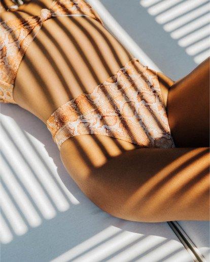 0 Over The Sun Maui - High Waist Bikinihose mit Schlangenmuster für Damen Mehrfarbig S3SB65BIP0 Billabong