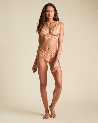 3 Over The Sun Maui - High Waist Bikinihose mit Schlangenmuster für Damen Mehrfarbig S3SB65BIP0 Billabong