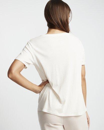 2 Legacyfriend - T-Shirt für Damen Weiss S3SS02BIP0 Billabong