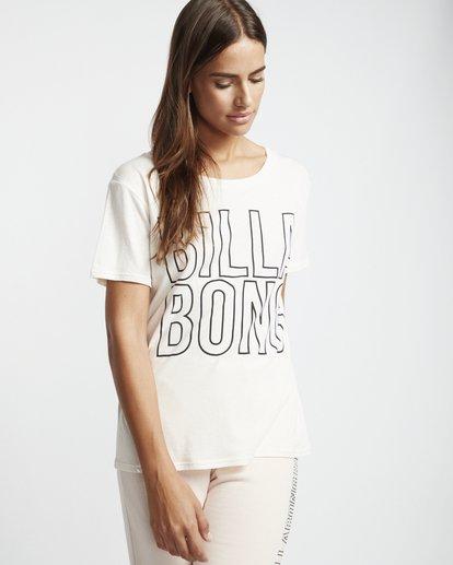 1 Legacyfriend - T-Shirt für Damen Weiss S3SS02BIP0 Billabong