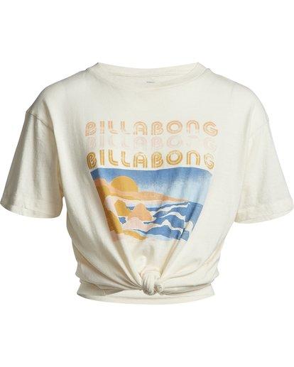 3 Coast Line - T-Shirt für Damen Weiss S3SS03BIP0 Billabong