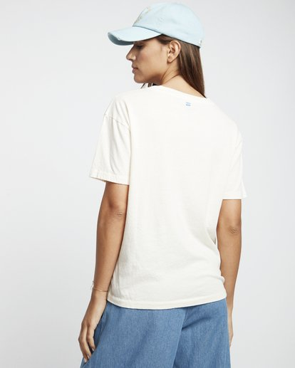 2 Coast Line - Camiseta para Mujer Blanco S3SS03BIP0 Billabong