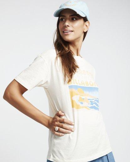 1 Coast Line - T-Shirt für Damen Weiss S3SS03BIP0 Billabong