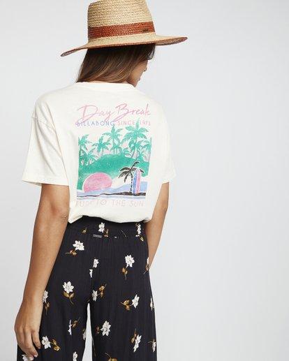 2 Day Break - Grafik-T-Shirt für Damen Weiss S3SS04BIP0 Billabong