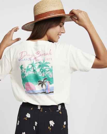 3 Day Break - Grafik-T-Shirt für Damen Weiss S3SS04BIP0 Billabong