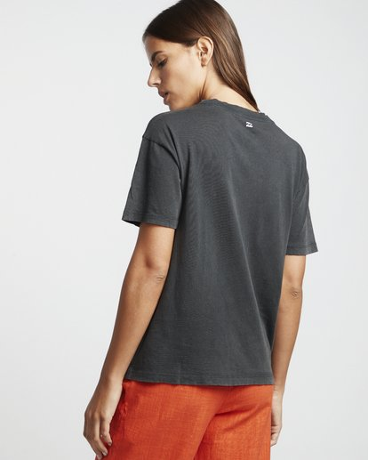 2 Surf Dream - Grafik-T-Shirt für Damen Schwarz S3SS05BIP0 Billabong
