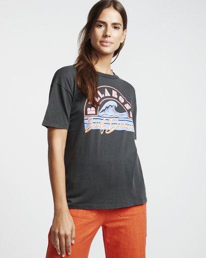 1 Surf Dream - Grafik-T-Shirt für Damen Schwarz S3SS05BIP0 Billabong