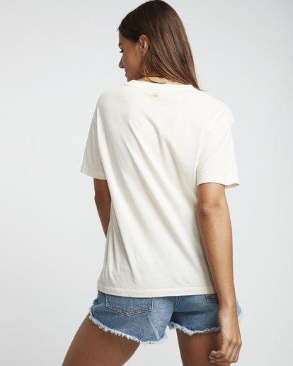 2 Pipe Dream - Grafik-T-Shirt für Damen Weiss S3SS07BIP0 Billabong