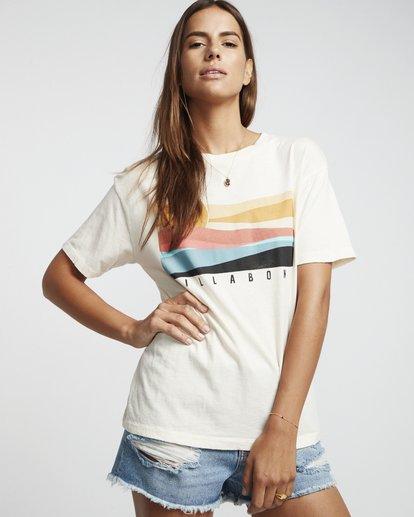 1 Pipe Dream - Grafik-T-Shirt für Damen Weiss S3SS07BIP0 Billabong