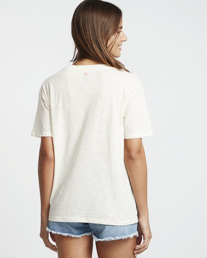 2 Free Your Mind - T-Shirt for Women White S3SS09BIP0 Billabong