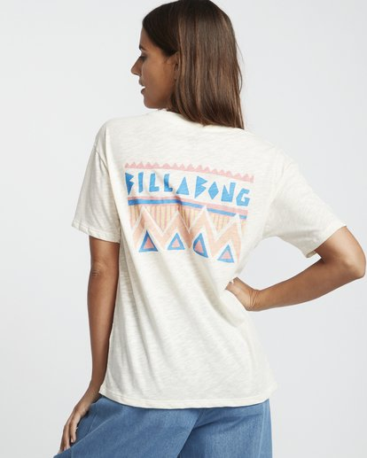 1 They Are Coming - Camiseta para Mujer Blanco S3SS10BIP0 Billabong