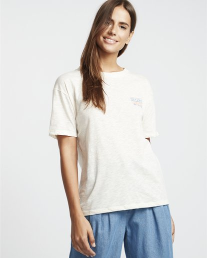 0 They Are Coming - Camiseta para Mujer Blanco S3SS10BIP0 Billabong
