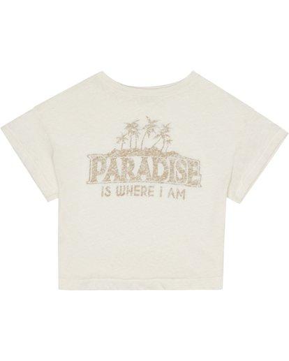 1 Paradise All Day - Camiseta para Mujer Blanco S3SS13BIP0 Billabong