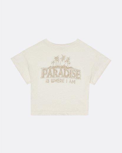 0 Paradise All Day - Camiseta para Mujer Blanco S3SS13BIP0 Billabong