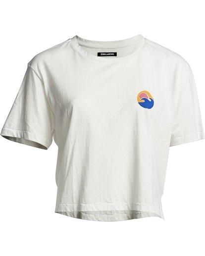 5 Party Waves - Camiseta con estampado gráfico para Mujer Blanco S3SS15BIP0 Billabong