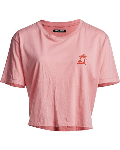 2 So Much Alhoa - Camiseta con estampado gráfico para Mujer Rosa S3SS16BIP0 Billabong