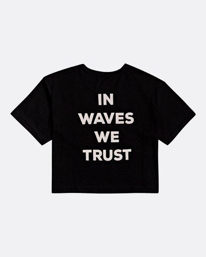 1 Waves All Day - Camiseta para Mujer Negro S3SS18BIP0 Billabong
