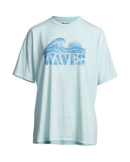 2 Eco - Grafik-T-Shirt für Damen Blau S3SS24BIP0 Billabong