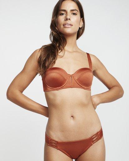 1 S.S Miami Underwire - Bikini Top for Women Brown S3ST02BIP0 Billabong