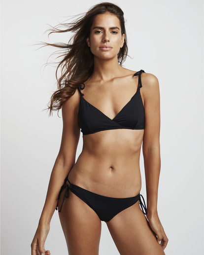 0 S.S Paradise Crossed Tri - Bikini Top for Women Black S3ST03BIP0 Billabong