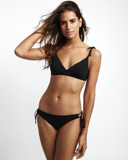 1 S.S Paradise Crossed Tri - Bikini Top for Women Black S3ST03BIP0 Billabong