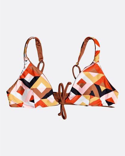 0 S.S Bahamas Rev Tri - Top de bikini para Mujer Marron S3ST04BIP0 Billabong
