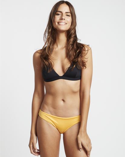 0 S.S Crossed Back Tri - Bikini Top for Women Black S3ST06BIP0 Billabong