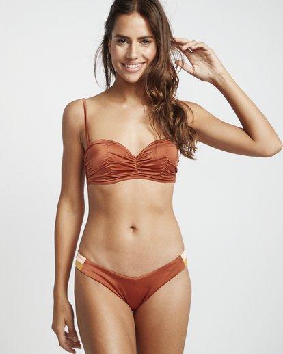 1 S.S Bustier - Bikini Top for Women Brown S3ST07BIP0 Billabong