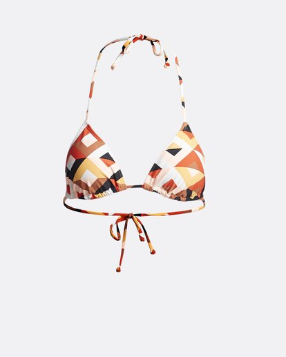 3 S.S Slide Tri - Solid Triangle Bikini Top for Women  S3ST09BIP0 Billabong