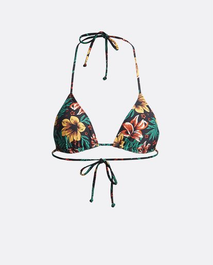 2 S.S Slide Tri - Solid Triangle Bikini Top for Women Multicolor S3ST09BIP0 Billabong