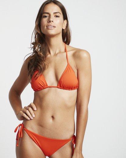 1 S.S Slide Tri - Solid Triangle Bikini Top for Women Multicolor S3ST09BIP0 Billabong