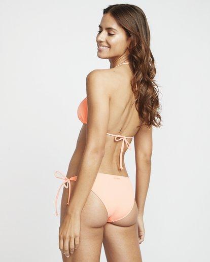 1 S.S Slide Tri - Haut de bikini triangle uni pour Femme Rose S3ST09BIP0 Billabong