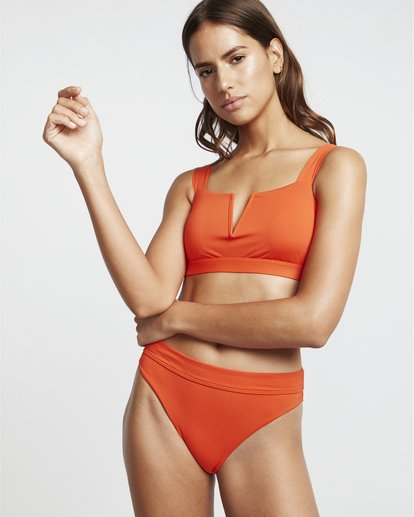 1 S.S - Cropped Tank Bikini Top for Women Multicolor S3ST10BIP0 Billabong