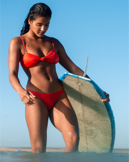 0 S.S Knotted Bandeau - Top de bikini bandeau para Mujer Multicolor S3ST11BIP0 Billabong