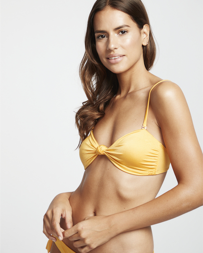 0 S.S Knotted Bandeau - Top de bikini bandeau para Mujer  S3ST11BIP0 Billabong
