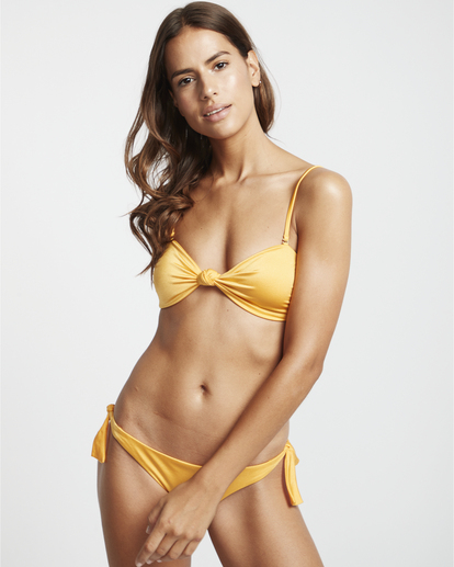 1 S.S Knotted Bandeau - Top de bikini bandeau para Mujer  S3ST11BIP0 Billabong