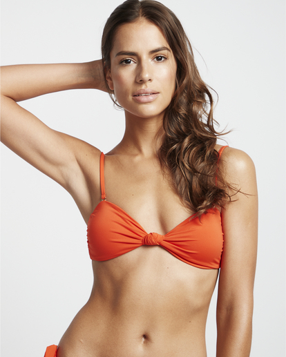 4 S.S Knotted Bandeau - Top de bikini bandeau para Mujer Multicolor S3ST11BIP0 Billabong