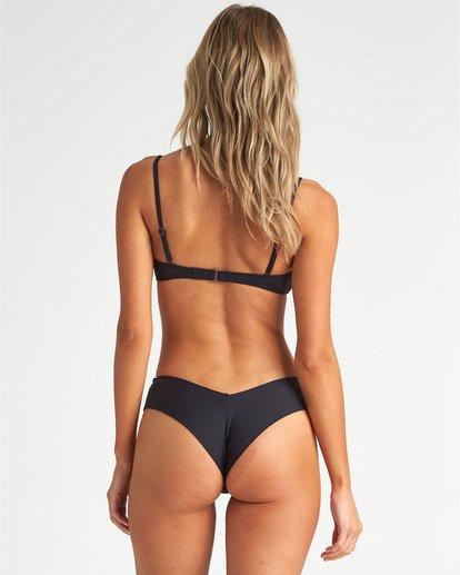 2 S.S Knotted Bandeau - Top de bikini bandeau para Mujer Negro S3ST11BIP0 Billabong