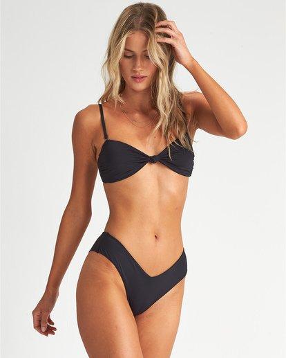 1 S.S Knotted Bandeau - Top de bikini bandeau para Mujer Negro S3ST11BIP0 Billabong