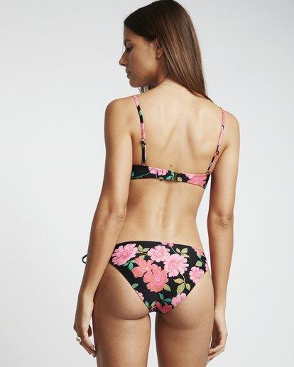 3 Sweet Song Bralette - Top de bikini bralette floreado para Mujer Negro S3ST23BIP0 Billabong