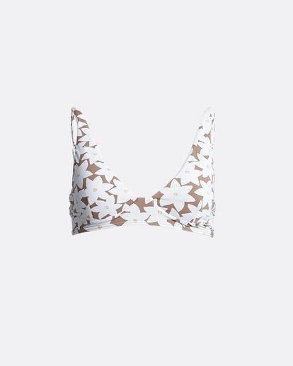 5 Slow Daze Bralette - Bralette Bikinitop mit Blumenmuster für Damen Braun S3ST27BIP0 Billabong