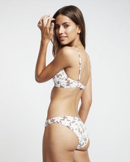 2 Slow Daze Bralette - Bralette Bikinitop mit Blumenmuster für Damen Braun S3ST27BIP0 Billabong